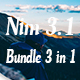 Nim 3.1 Bundle 3 in 1 Google Slide Template - GraphicRiver Item for Sale