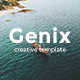 Genix Creative Powerpoint Template - GraphicRiver Item for Sale