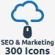 SEO, Development and Marketing Icons