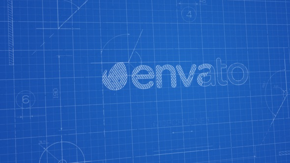 Blueprint logo by m16 videohive play preview video malvernweather