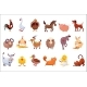 Set of Farm Animals - GraphicRiver Item for Sale