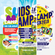 Kids Camp Flyer/Poster Bundle - GraphicRiver Item for Sale