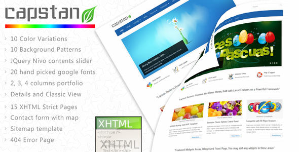 Free Download Capstan Business Premium - XHTML Template Nulled Latest Version