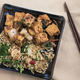 Tofu and Fried Rice Dinner - PhotoDune Item for Sale