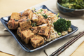 Fried Tofu and Rice - PhotoDune Item for Sale