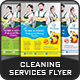 Cleaning Services Flyer Templates - GraphicRiver Item for Sale