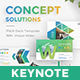 Concept Solutions Business Keynote Template - GraphicRiver Item for Sale