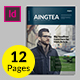 Aingtea Newsletter Vol.03 - GraphicRiver Item for Sale