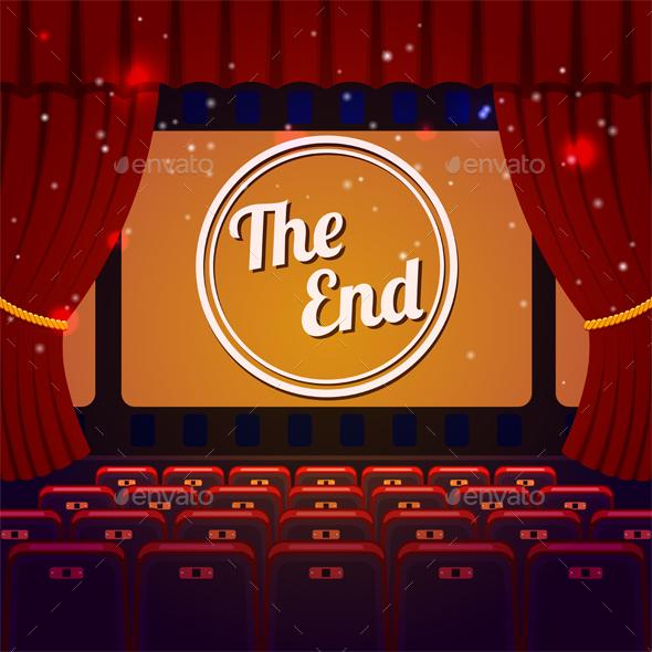 End Show Concept - Miscellaneous Vectors