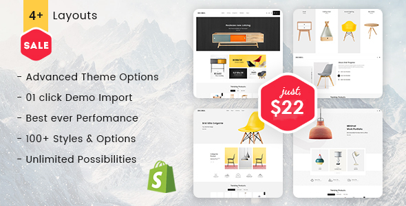 Decora - Shopify Multi-Purpose Responsive Theme