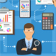 Auditing and Business Accounting Infographics - GraphicRiver Item for Sale