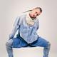 male contemporary hip hop dancer in denim - PhotoDune Item for Sale