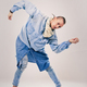 male contemporary hip hop dancer in denim - PhotoDune Item for Sale