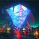 Glowing Crystal VJ Loop - VideoHive Item for Sale