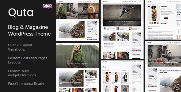 Image of Quta - A WordPress Blog & Shop Theme