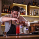 Bartender decorating non-alcoholic cocktail - PhotoDune Item for Sale