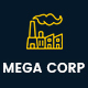 Mega Corp - Industrial , Factory and Engineering WordPress Theme