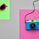 Fashion Film Camera. Pop Art Style. Minimal - PhotoDune Item for Sale