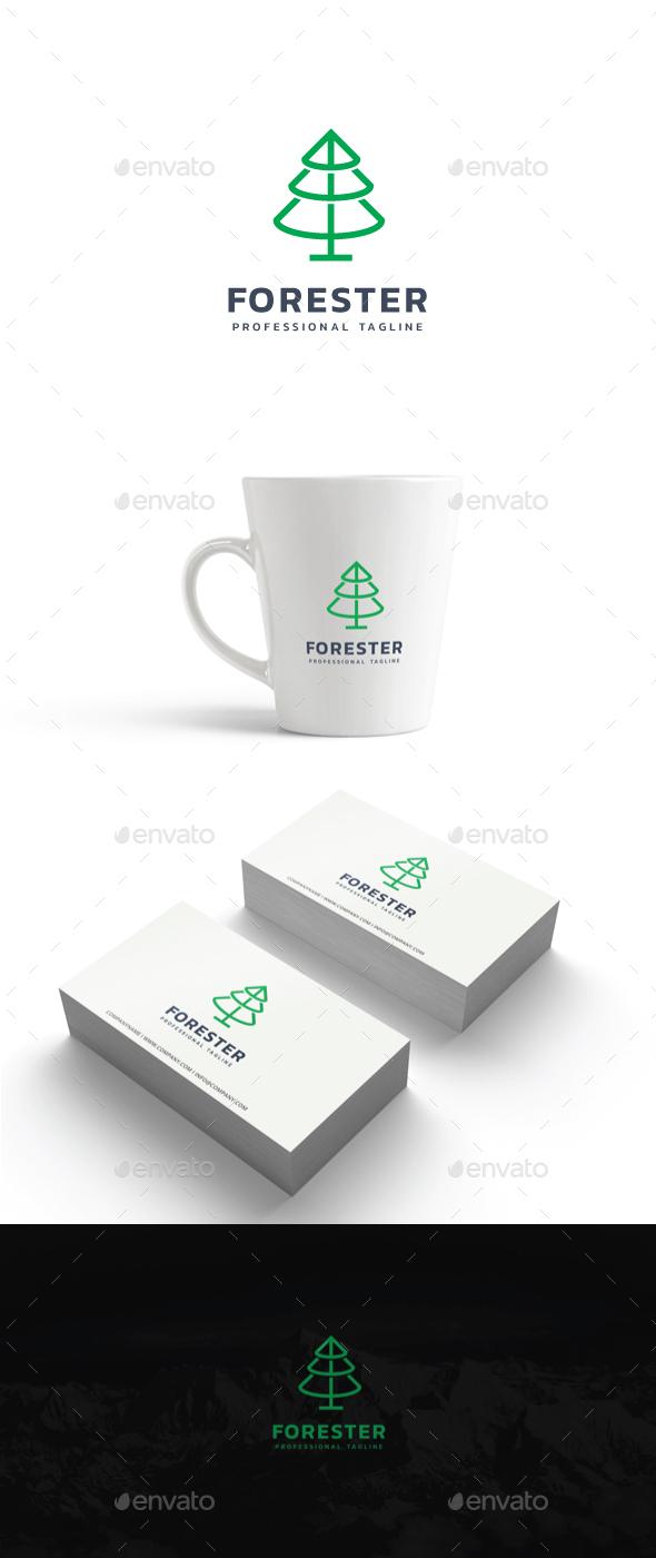 Forester Logo - Nature Logo Templates