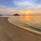 Paradise beach at sunrise. Greece - PhotoDune Item for Sale