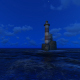 Lighthouse In Night - VideoHive Item for Sale