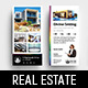 Real Estate DL Rack Card Template