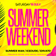 Summer Weekend Flyer - GraphicRiver Item for Sale