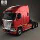 Freightliner Argosy Tractor Truck 2011 - 3DOcean Item for Sale