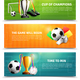 Soccer Horizontal Banners - GraphicRiver Item for Sale