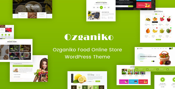 Image of Ozganiko - A Organic Store And Food Shop WordPress Theme