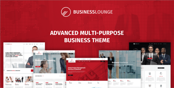 Image of Business Lounge | Multi-Purpose Business & Consulting Theme