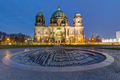 The illuminated Berlin Cathedral - PhotoDune Item for Sale