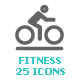 Fitness Mini Icon - GraphicRiver Item for Sale