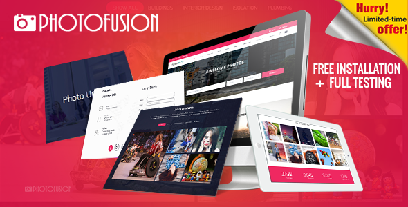 Photo Fusion - Free Stock Photos Script - CodeCanyon Item for Sale