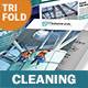 Cleaning Service Trifold Brochure - GraphicRiver Item for Sale