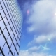 Skyscraper on the Background of Clouds - VideoHive Item for Sale