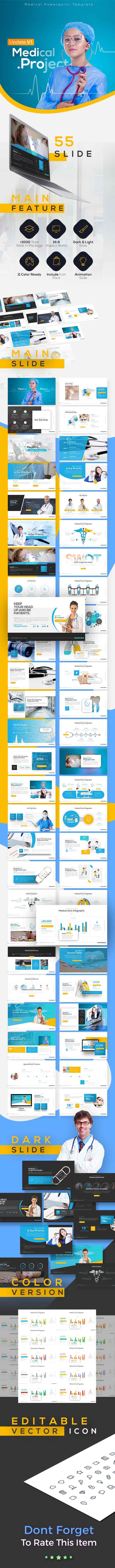 Medipro Medical Presentation Template - PowerPoint Templates Presentation Templates