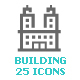 Building Mini Icon - GraphicRiver Item for Sale