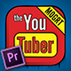 The YouTuber Pack - Comic Edition V2.0 | MOGRT For Premiere Pro CC - VideoHive Item for Sale
