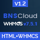 BNSCloud | Multipurpose Hosting with WHMCS Templates - ThemeForest Item for Sale
