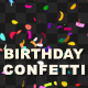 Birthday Confetti - VideoHive Item for Sale