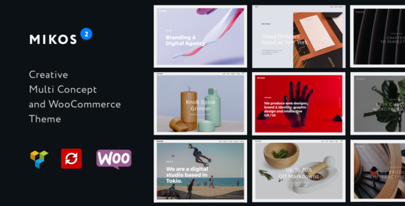 Image of Mikos 2 - Creative Multi Concept and WooCommerce WordPress Theme
