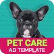 Professional Services | Pet Care Banner (PS009) - CodeCanyon Item for Sale
