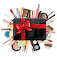 Vector Gift Card with Cosmetics