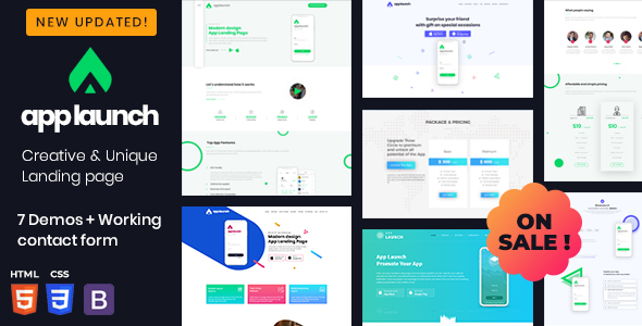 AppLaunch - App Website Template