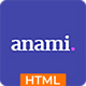 Anami - Creative Agency HTML Templates - ThemeForest Item for Sale