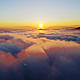 Above Sunset Clouds - VideoHive Item for Sale
