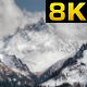 High Snowy Mountain Behind the Valley - VideoHive Item for Sale