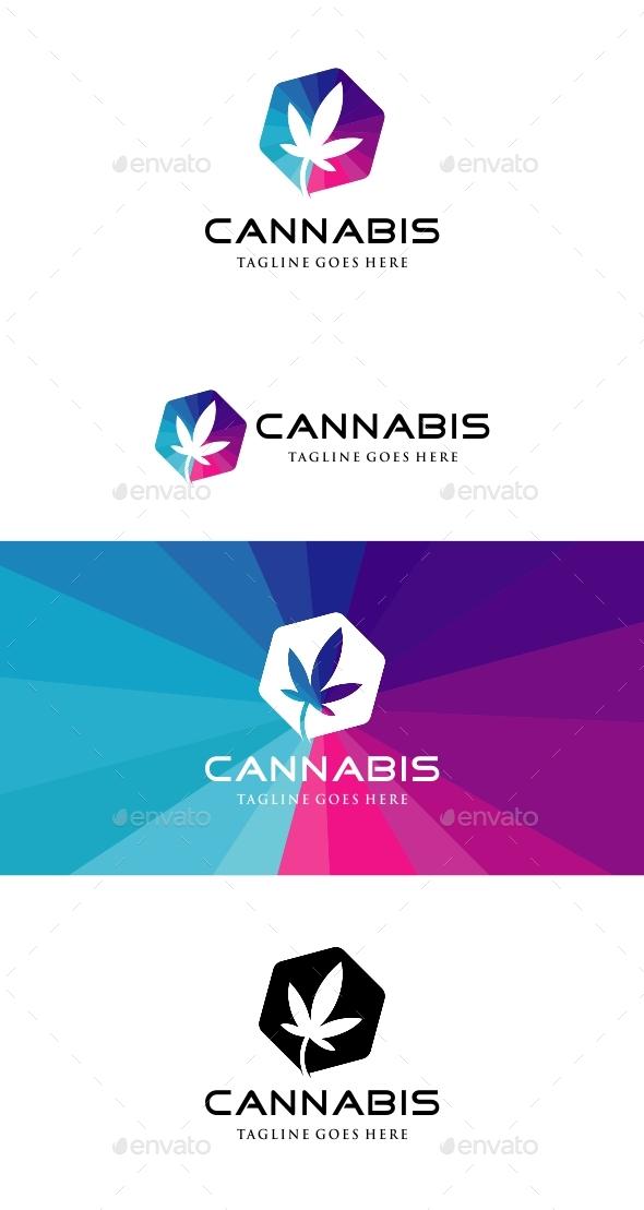 Cannabis Logo - Nature Logo Templates