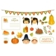 Happy Thanksgiving Card, Elements of Thanksgiving - GraphicRiver Item for Sale